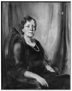 Portret van Machtella barones van Lynden (1880-1943)