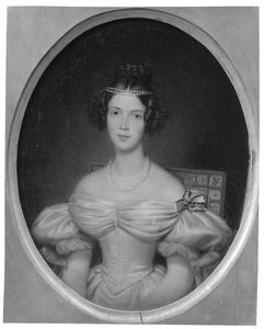 Portret van prinses Marianne van Oranje- Nassau (1810-1883)