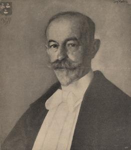 Portret van Adriaan Ernst Hugo Swaen (1863-1947)