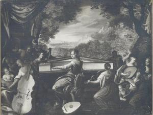 Musicerende muzen