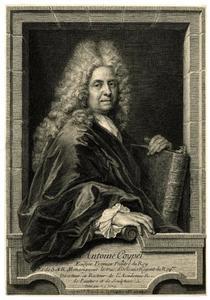 Portret van Antoine Coypel, Ecuyer Premier Peintre du Roy (1690-1734)