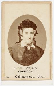Portret van Judith Oortman (1807-1866)