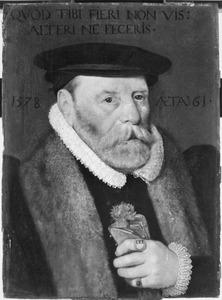 Portret van een 61-jarige man