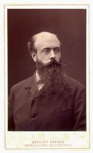 Portret van Gerardus Marie Blankenheym (1842-1910)