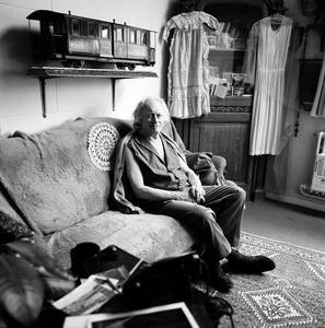Portret van Paul Delvaux