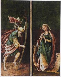 De HH. Christoforus en Margaretha van Antiochië
