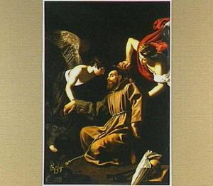 De heilige Franciscus van Assisi in extase