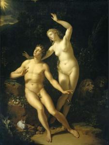 God roept Adam en Eva ter verantwoording (Genesis 3:8-9)