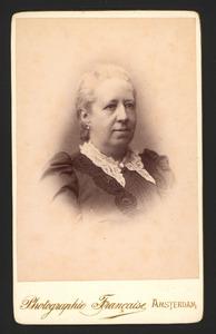 Portret van Rebekka Anna van Geuns (1839-1909)