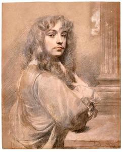 Zelfportret van Peter Lely (1618-1680)