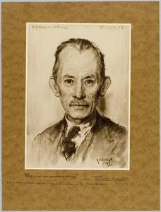 portret van Arthur Le Cosquino de Bussy