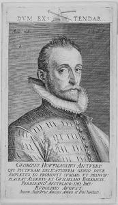 Portret van Joris Hoefnagel (1542-1600)