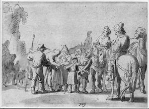 kampscène, Jozef verkocht door zijn broers(?)