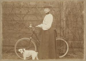 Portret van Wilhelmina Jacoba Molhuijsen (1879-1957)