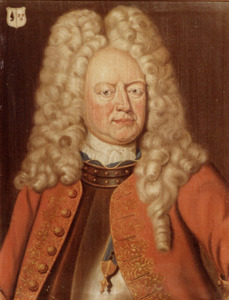 Portret van Gerardus Wilhelmus (Josephus) van der Heyden (1688-1752)