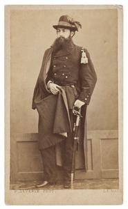 Portret van Frederik baron van Hogendorp (1843-1889)