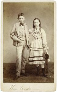 Portret van Hugo Gevers (1858-1921) en Sophie Geertruida Francoise Gevers (1860-1842)