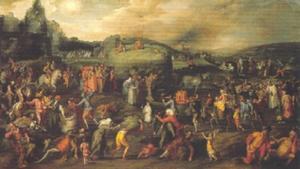 De Hooiwagen; Allegorie op de wereldlijke en geestelijke misbruiken