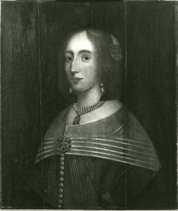 Portret van Lucia Helena van Aebinga