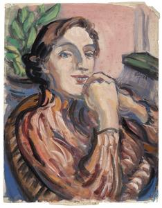 Amrey met coltrui (Annemarie Balsiger Zürich 1909- 1999 Amsterdam)