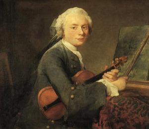 Portret van Charles Godefroy ( -1748)