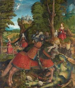 Sint Joris strijd met de draak