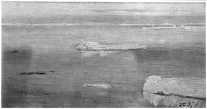 Drijf- en pakijs in de Noordelijke IJszee