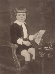 Portret van H.J. van der Auwera