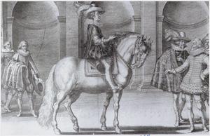 Lodewijk XIII te paard en Antoine de Pluvinel