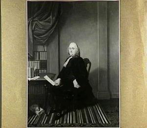 Portret van Martinus Bogaard (1712-1768)