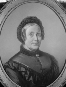 Portret van Antonia Johanna Frederika Haenenberger (1804-1881)