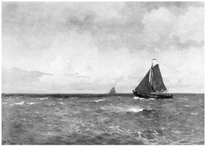 Platbodem op de Zuidervaart