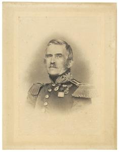Portret van Johannes Muschart (1795-1874)