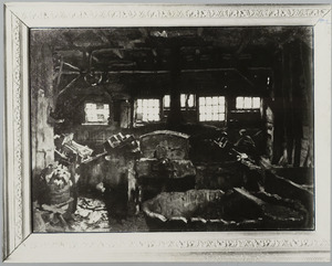 Interieur van een papierfabriek te Vaassen