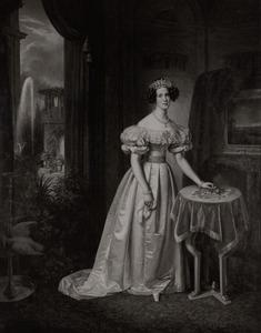 Portret van Marianne van Oranje- Nassau (1810-1883)