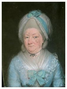 Portret van Margaretha Sautijn (1726-1805)