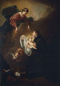 Maria met kind met de heilige Stanislas Kostka