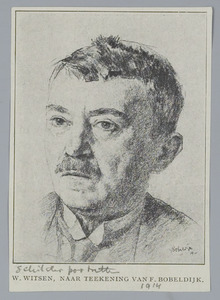Portret van Willem Witsen