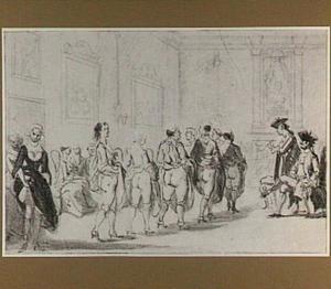 Prins Eugenius van Savoye bezoekt het bordeel van Madame Traese op de Prinsengracht te Amsterdam