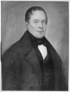 Portret van Leendert van der Pol (1818-1883)