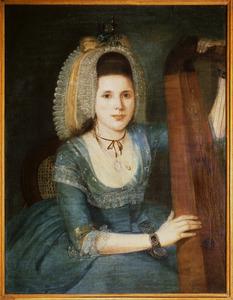 Portret van een vrouw, waarschijnlijk Suzanna Margaretha Nicolett