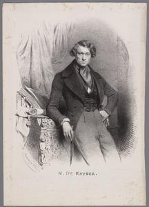 Portret van Nicaise De Keyser (1813-1887)
