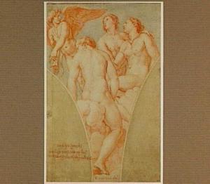 Cupido en de drie Gratiën
