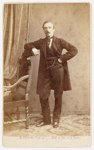 Portret van William Archibald Johannes von Krippendorff (1817-1879)