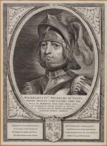 Portret van Willem IV van Henegouwen (1317-1345)