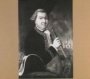 Portret van Willem Crul (1721-1781), Schout-bij-nacht van de Maze