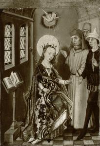 Voorstelling uit het leven van een heilige prinses