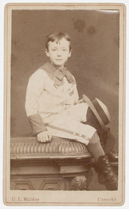 Portret van Hendrik Jan Marie Barchman Wuytiers van Vliet (1875-1916)