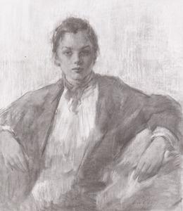 Portret van Annette Clay