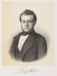 Portret van Henry Riehm (1822-1852)